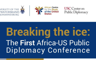 The First Ever Public Diplomacy Conference in Africa, Wits University