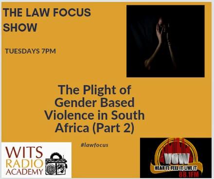 Law Focus – Gender Based Violence Part 2