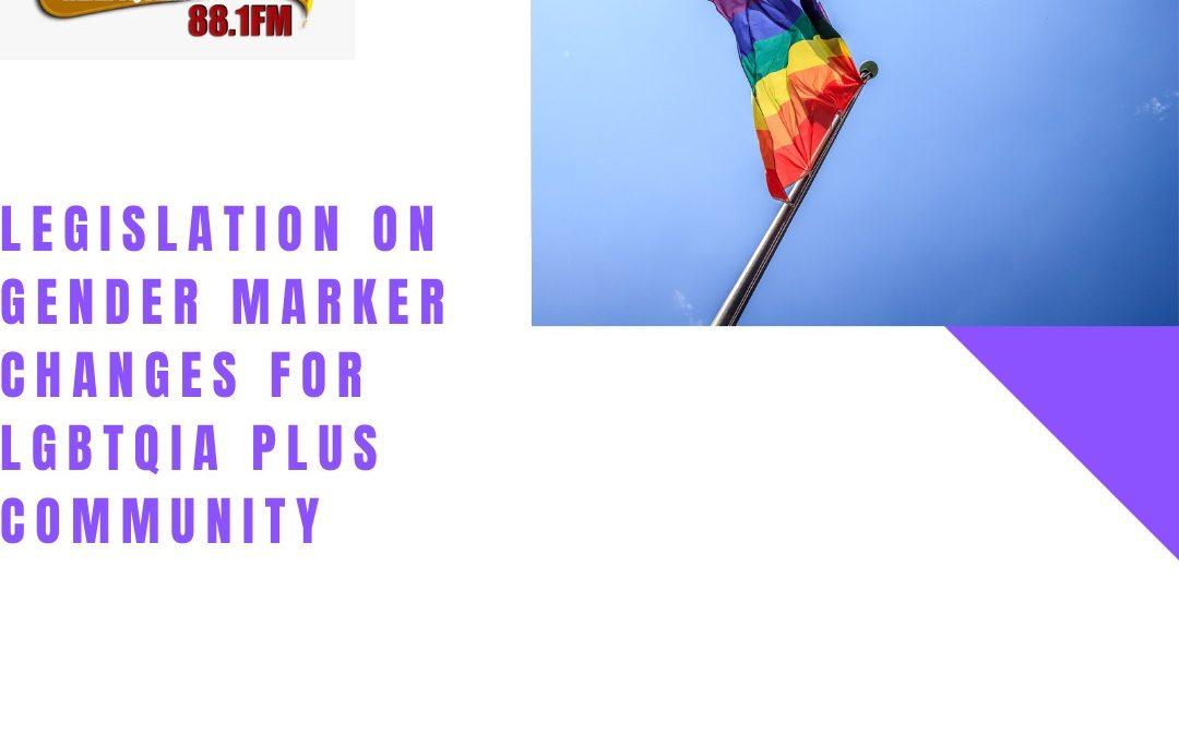 Law Focus – Gender Marker Changes