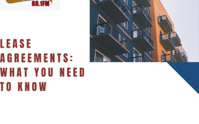 Law Focus – Lease Agreements: What You Need To Know
